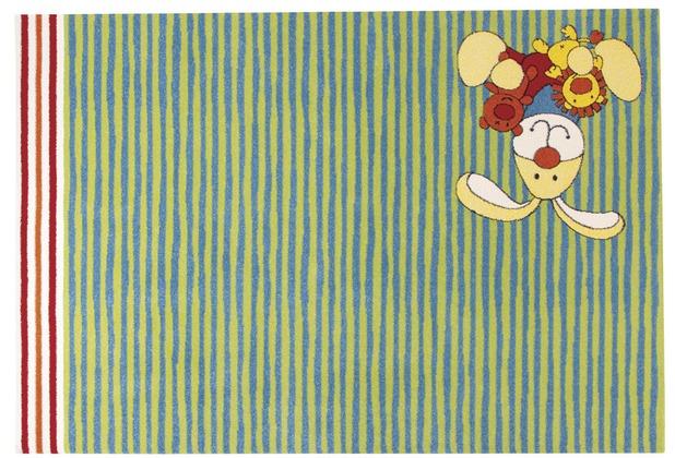 Sigikid Kinderteppich Semmel Hase / Bunny SK-0527-02 grün 120 x 170 cm