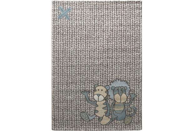 Sigikid Kinderteppich Patchwork Sweetys SK-21966-730 beige 80x150
