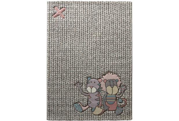 Sigikid Kinderteppich Patchwork Sweetys SK-21966-755 beige 80x150