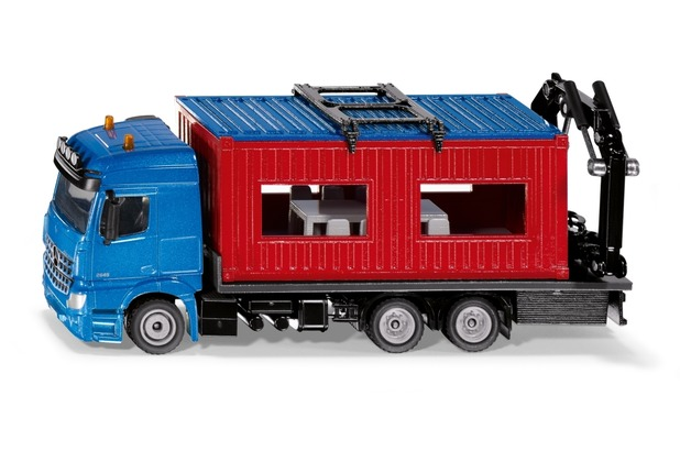 SIKU LKW mit Baucontainer