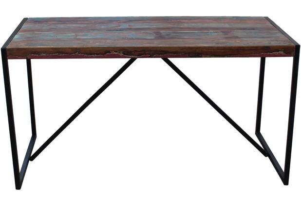 SIT BALI Tisch bunt mit antikschwarz