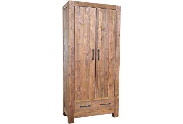 SIT BANDA Schrank 2 Türen, 2 Schubladen natur