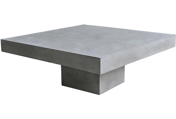 SIT-Möbel CEMENT Couchtisch 80 x 80 cm grau