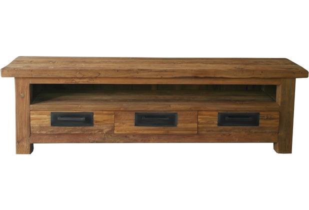 SIT CORAL Lowboard 3 Schubladen, 1 offenes Fach natur