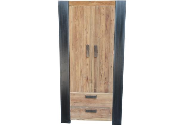 SIT CROCO Schrank 2 Türen, 2 Schubladen Antikfinish