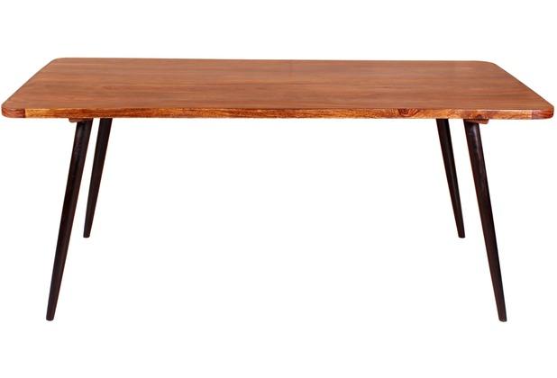 SIT-Möbel KNOB Esstisch natur, Beine antikschwarz
