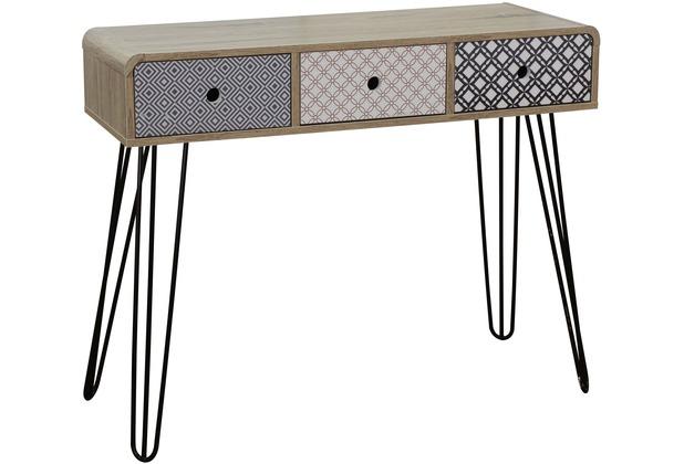 SIT-Möbel MAILBOX Konsolentisch 3 Schubladen