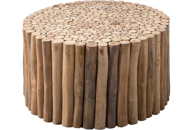 SIT ROMANTEAKA Couchtisch rund natur, 80 cm