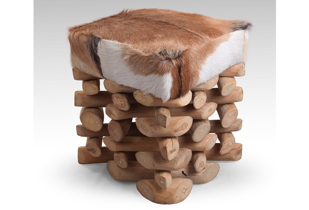 SIT ROMANTEAKA Hocker natur