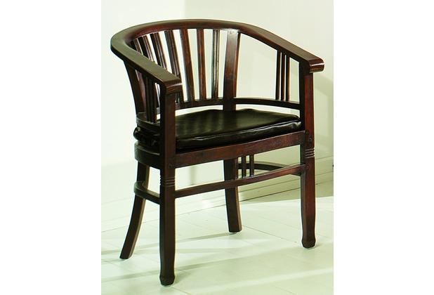 SIT-Möbel SAMBA Armlehnstuhl Brettsitz antikfinish