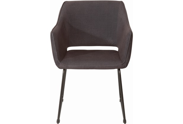SIT SIT&CHAIRS Armlehnstuhl, 2er-Set Bezug Tom Tailor schwarz Gestell und Bezug schwarz