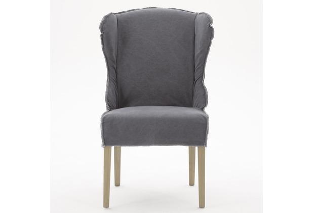 Sit Möbel Sitchairs Sessel 2er Set Bezug Jeansstoff Stone Washed