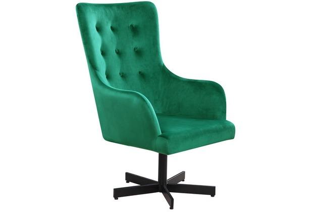SIT SIT&CHAIRS Sessel grün Gestell schwarz, Bezug grün