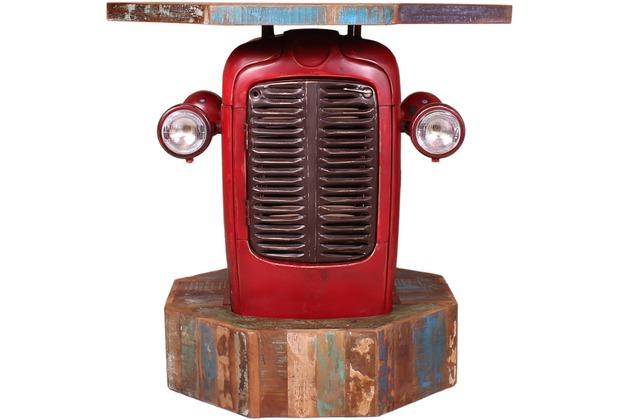 SIT THIS & THAT Traktor - Biertisch 1 Tür, 1 Ablagefläche Rot-bunt
