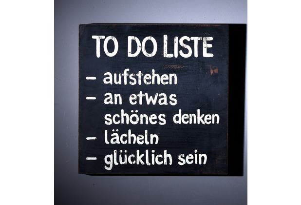 SIT THIS & THAT Wall-Art To Do Liste bunt