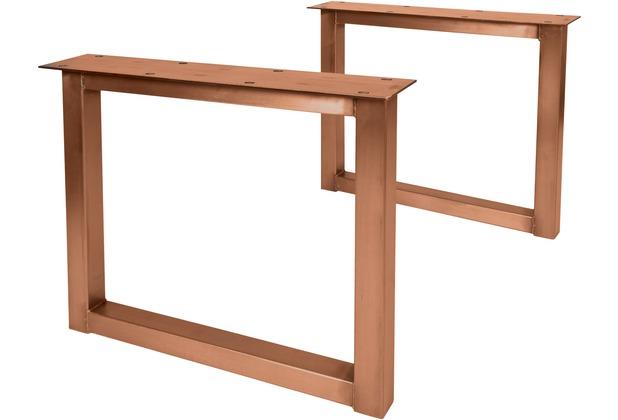 SIT-Möbel TOPS & TABLES Tischgestell antikbraun für Platten von 180 bis 240 cm antikbraun