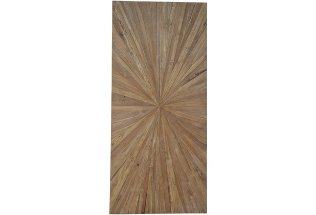 SIT TOPS & TABLES Tischplatte 160x90 cm Teak natur, Plattenstärke 50 mm natur