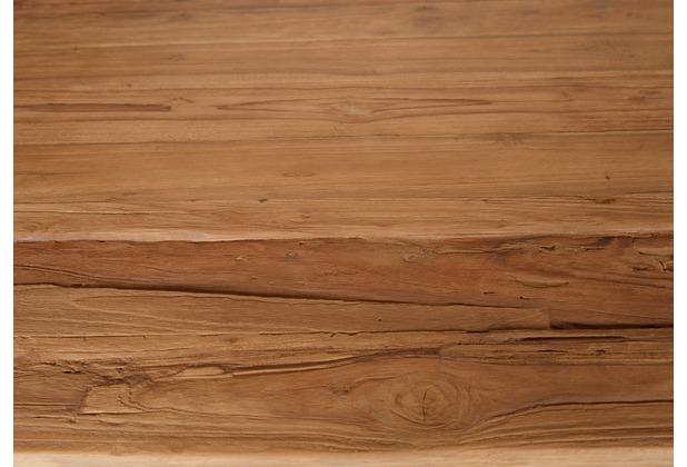 SIT TOPS & TABLES Tischplatte 180x100 cm recyceltes Teak, Plattenstärke 50 mm natur
