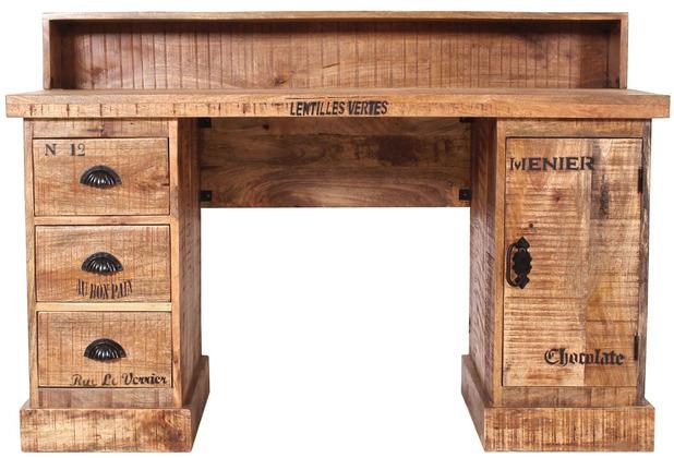 SIT Schreibtisch rustic 01901-04 Mango 132 x 90 cm natur
