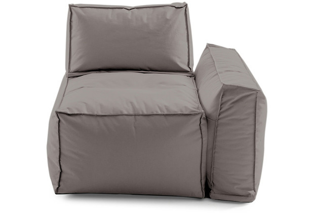 Sitting Bull Cappa Sofaelement rechts taupe