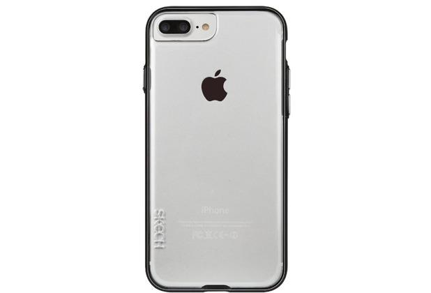 Skech Ice Case, Apple iPhone 8 Plus/7 Plus, transparent/schwarz