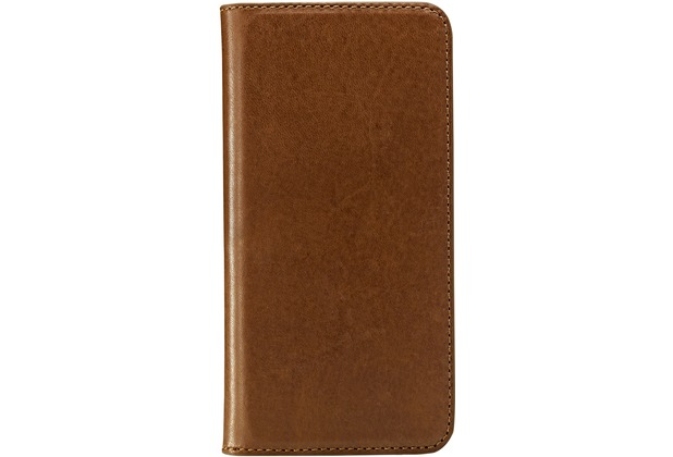 Skech Lisso Book leather für iPhone 5, tan