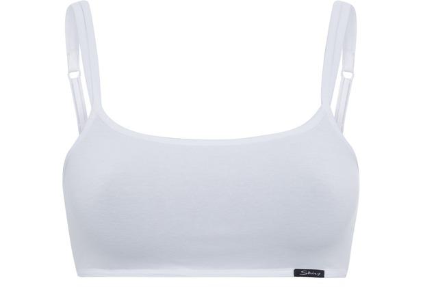 Skiny Essentials Women Bustier, white 36