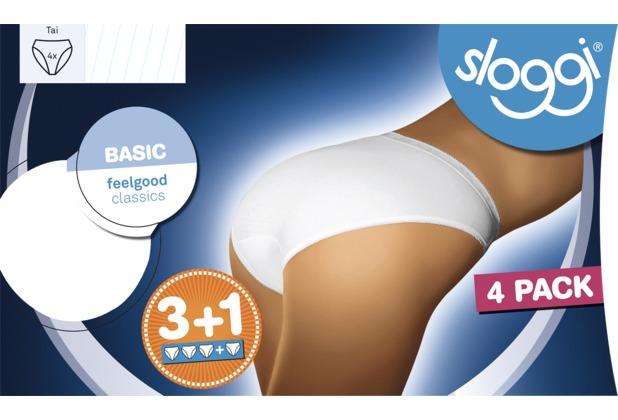 Sloggi Basic 2er-Pack white 38