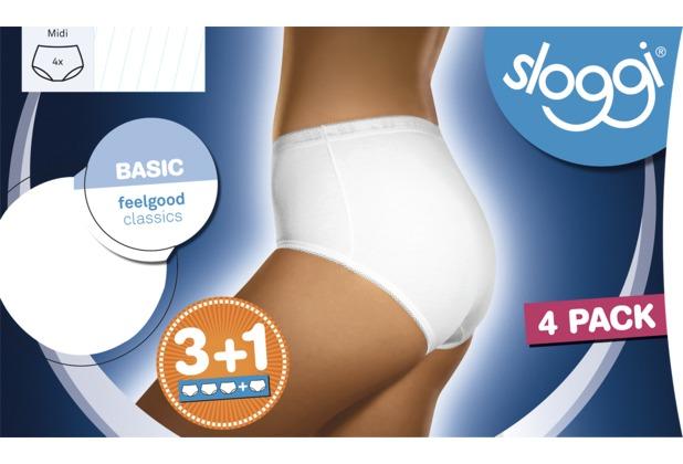 Sloggi Basic 2er Pack white 38