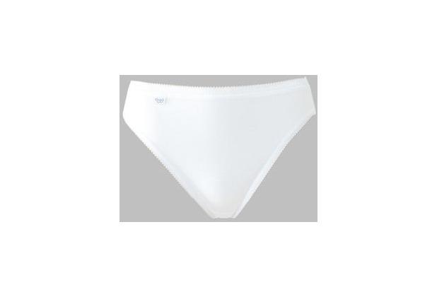 Sloggi Basic Damen Tagwäsche Slip (ohne Bein) Taille schwarz sportlich 38