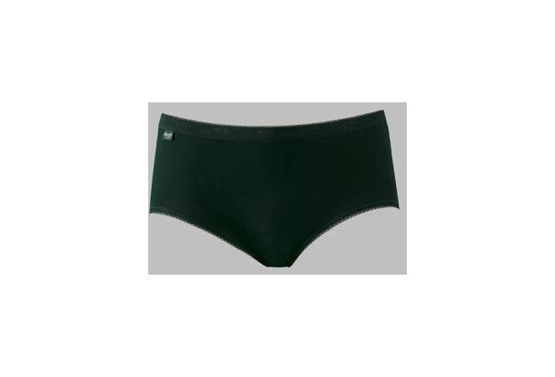 Sloggi Basic Damen Tagwäsche Slip (ohne Bein) Taille schwarz 38