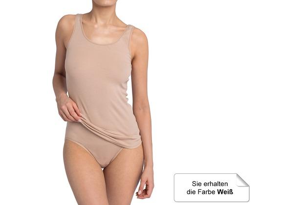 Sloggi Double Comfort Damen Tagwäsche Slip Taille weiß 38