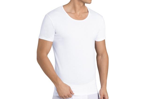 Sloggi men 24/7 Halbarm-Shirt mit Rundhals-Ausschnitt 2er-Pack white 4