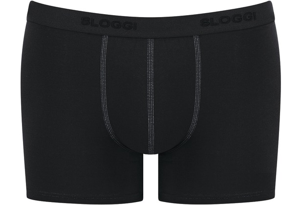 Sloggi MEN 24/7 Herren Slip Short 2er-Pack black 4