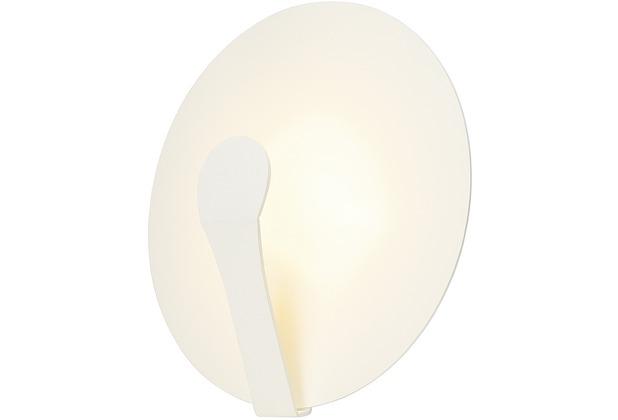SLV AIR INDI 33 Wand- und Deckenleuchte, rund, weiss, 18W LED, 3000K