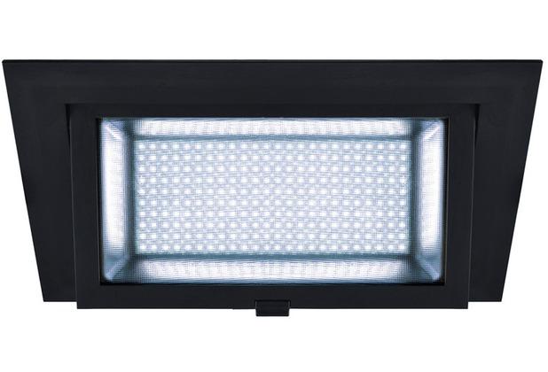 SLV ALAMEA LED Deckeneinbauleuchte, schwarz, 4000K, 35W