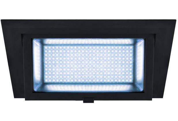 SLV ALAMEA LED Deckeneinbauleuchte, schwarz, 4000K, 45W