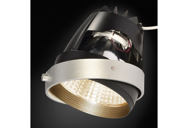 SLV COB LED MODUL, für AIXLIGHT PRO Einbaurahmen, silbergrau, 30°, CRI90+, 3200K