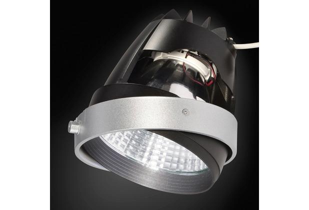 SLV COB LED MODUL, für AIXLIGHT PRO Einbaurahmen, silbergrau, 70°, CRI90+, 4200K