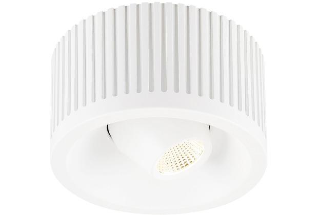 SLV COMFORT CONTROL LED, direkt, schwenkbar, weiss weiß