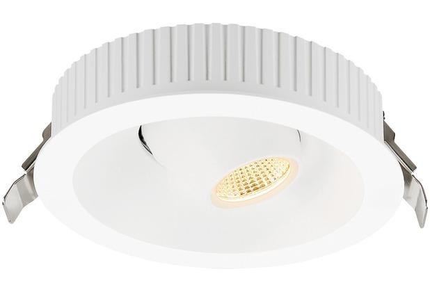 SLV COMFORT CONTROL LED, Einbau- leuchte, direkt, schwenkbar, weiss weiß