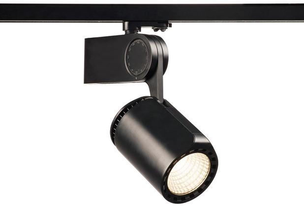 SLV DANCER LED Leuchtenkopf, schwarz, 3000K, inkl. 3P-Adapter schwarz