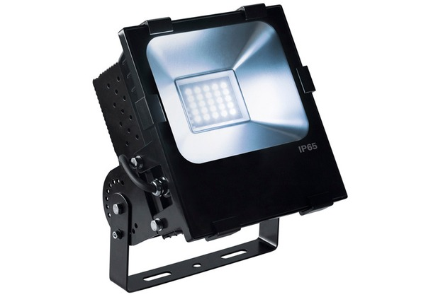 SLV DISOS, Outdoor Strahler, LED, 4000K, schwarz, 100W