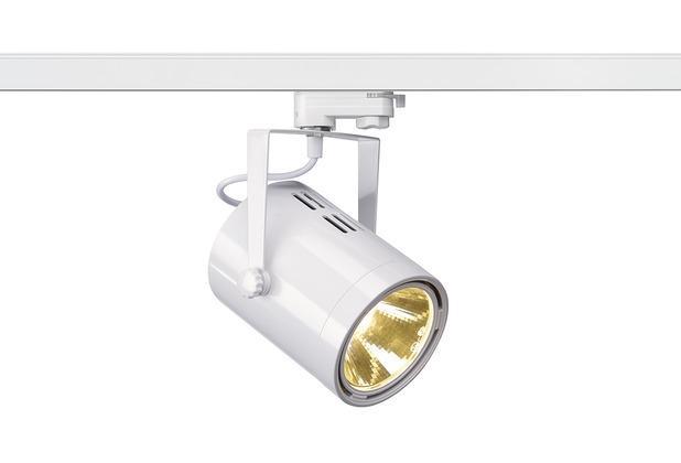 SLV EURO SPOT LED, 20W COB LED, weiss, 36°, 3000K, inkl. 3P.-Adapter weiß