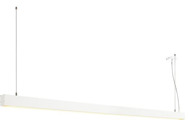 SLV GLENOS Pendelleuchte, mattweiss, 2m, 103W, 3000K weiß