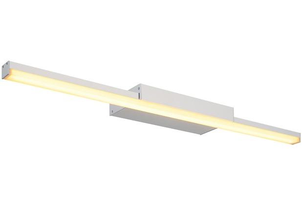 SLV GLENOS Spiegelleuchte, silber LED,3000K silber