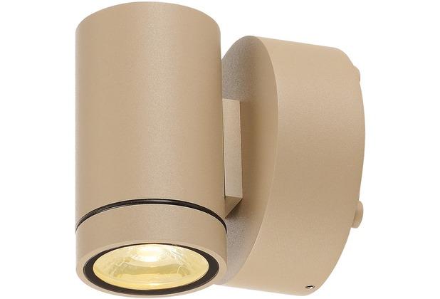 SLV GUNNSY WALL Downlight, sandy beige, 8W LED, 3000K beige