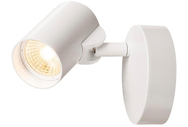SLV HELIA LED Single Wand- und Deckenleuchte, 3000K, 35°, weiss