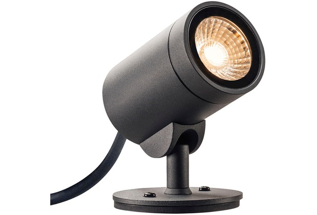SLV HELIA LED SPOT, Outdoor Strahler, 3000K, 35°, anthrazit, IP55
