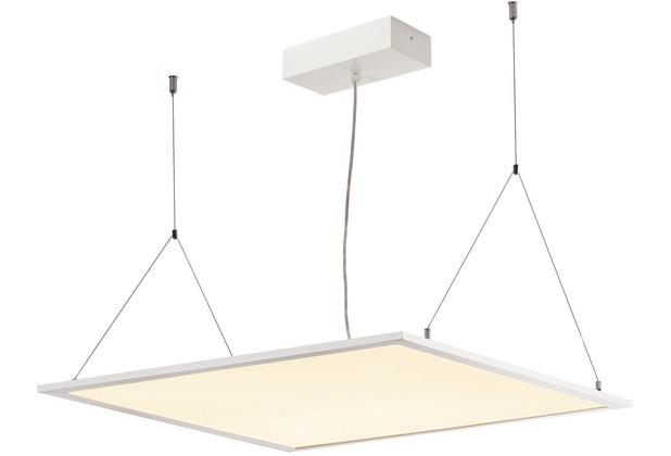 SLV I-VIDUAL PREMIUM LED Panel für Rasterdecken, 620x620mm, UGR<19, 3000K, weiss weiß